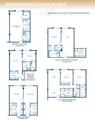Efficiency Floor Plans Colors Small Apartment Plan Home Design