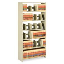 Tennsco Steel Storage Cabinets by Snap Together Steel Six Shelf Closed Starter Set By Tennsco