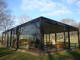 InteriorInspiring Modern Lodge With Glass Walls Design Also Trendy Furniture And Metal Structure Inspiring