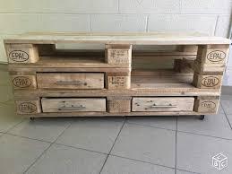 meuble tv en palette eur bauvin vend meuble tv type industriel