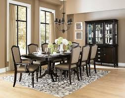 Tribecca Home Lasalle Dining Chairs by Homelegance Marston Double Pedestal Dining Set Neutral Tone