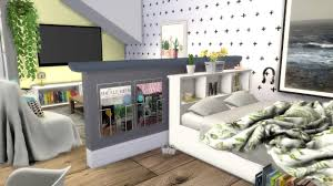 100 Studio House Apartments The Sims 4 Speed Build STUDIO APARTMENT