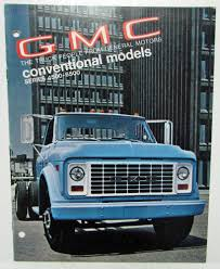 100 1970 Gmc Truck GMC Conventional Models Series 45006500 Sales Brochure