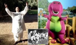 100 Barney Fire Truck The Dinosaur Is Now A Tantric Sex Guru Daily Mail Online