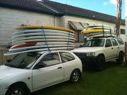 Transport safety tips for SUP s on roof racks