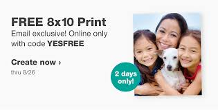 FREE 8×10 From Walgreens!