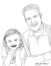 Dentist Treating Kids Teeth And Kid With Dental Braces Coloring Page