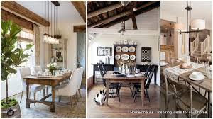 20 splendid rustic dining rooms that will inspire you