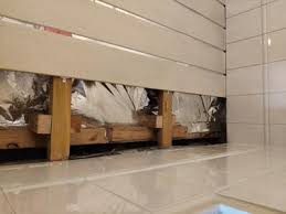 baddecke unter flachdach isolieren