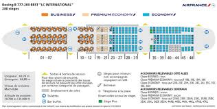 boeing 777 200 sieges flight report on air b777 200 configuration