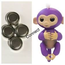 Image Is Loading 4 Batteries For All WowWee Fingerling Electronic Monkey