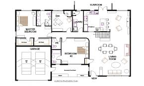 Bungalow Open Concept Floor Plans Small Open Concept Modern Mansion