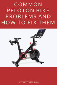 Common Peloton Bike Problems And How To Fix Them | Peloton ...