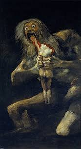 Francisco De Goya Saturn Devouring His Son In Which The Titan Eats All Children So That They Wont Be Death Of Him