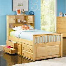 Inspiring Magnificent Twin Bed With Bookcase Headboard Most