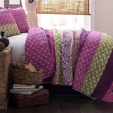 Lush Decor Serena Bedskirt by Purple Comforter Sets Purple Bedroom Ideas