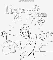 Jesus Easter Coloring Pages Free