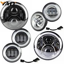 aliexpress buy 7 harley daymaker led headlight auxiliary