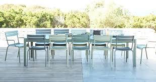 chaise de jardin de couleur mobilier de jardin chaise metal