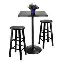 5 Piece Bar Height Patio Dining Set by Bar Stools 5 Piece Pub Table Set Espresso Bar Height Dining