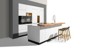 moderne küche linee team 7 glas aus ahorn aus