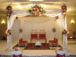 Indian Wedding Decorations Gorgeous Marriage Decoration Ideas Intended For Diy Outdoor