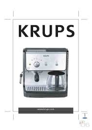 Krups Xp 2070 Coffee Maker Download Manual For Free Now 2a75d U Rh Com Owners Notice