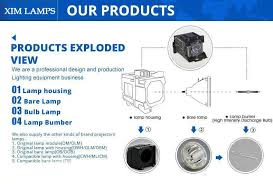 replacement projector l bulbs with housing for epson powerlite