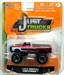 Jada 2013 Just Trucks 1972 Chevy Cheyenne Pickup Wave 1 Metallic Red ...