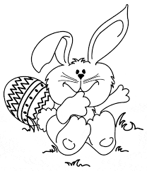 Easter Bunny Rabbit Template