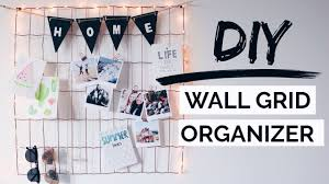 DIY Wall Grid Organizer Urban Outfitters Inspired Room Decor