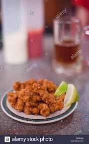 cuisine alligator fried alligator at served seafood depot in everglades city florida