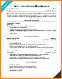 Entry Level Resume Examples 2016 Also Accounting Sample For Prepare Cool Nurses Without