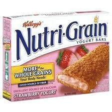 Nutrigrain Bar Nutrition Facts Best Bars Images On Grains Clocks And Drinking