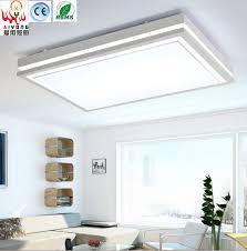 Iron Led Acrylic Rectangular Living Room Lamp Ceiling Bedroom Modern Minimalist Dining Lights