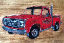 100 Little Red Express Truck For Sale Lil Wood Burning OhBeeWhan