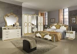 komplett schlafzimmer beige silber