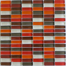 Red Glass Tile Backsplash Pictures by Stone Molds Tiles And Shower On Pinterest Arafen