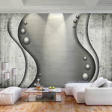 vlies fototapete steine beton kugeln steinoptik tapete grau