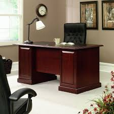 Jofco Desk And Credenza by Amazon Com Sauder 402159 Executive Desk Heritage Hill Classic
