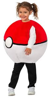Amazon.com: Pokemon Pokeball Kids Costume: Toys & Games