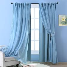 Blackout Canopy Bed Curtains by Teal Blackout Curtains Promotion Shop For Promotional Teal