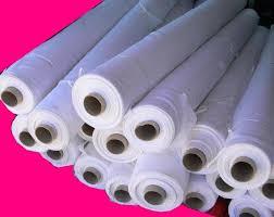 voilage au metre tissu poly blanc 270cm grossiste en alimentation et destockage