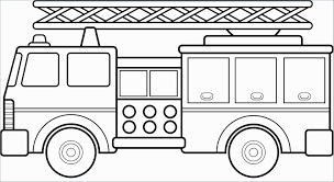 Semi Truck Coloring Pages Best Fire Truck Clipart Black And White ...