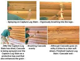 What is the best way to apply stain Log Home Stain FAQs