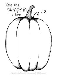 Pumpkin Patch Parable Printable by Pumpkin Coloring Sheets Blank Pages To Print Halloween Cute