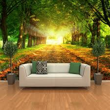 28 contemporary wall murals interior nature wall mural bmt live