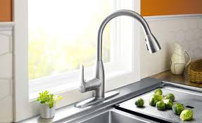 Wall Mounted Kitchen Faucet Single Handle by Kitchen Interesting Wall Mount Kitchen Faucet With Sprayer Modern