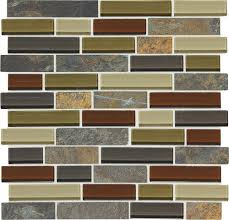 mohawk phase mosaics stone and glass wall tile 1 random at