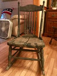 Armless Wooden (Nursing/Sewing) Rocker | Collectors Weekly